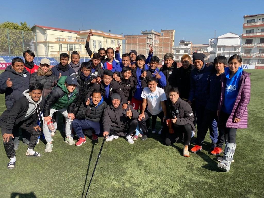 """""""サッカーの1点は、My Goalではなくて、Our Goal""""  It is NOT MY goal.It is OUR goal!"""