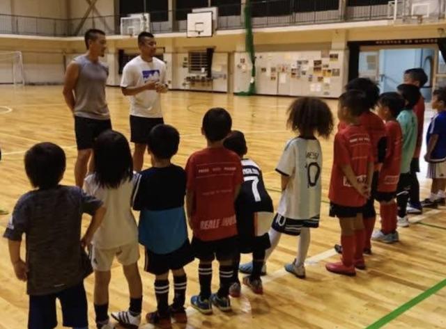 ハト塾&FCレアーレのスペシャルトレーニング FC REALE special training day