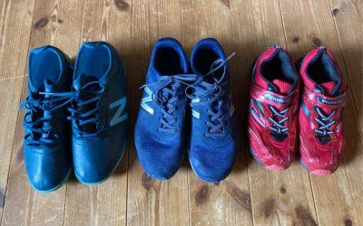 「靴を活かせて、私も嬉しい!」 その言葉とともにシューズたちが届きました!