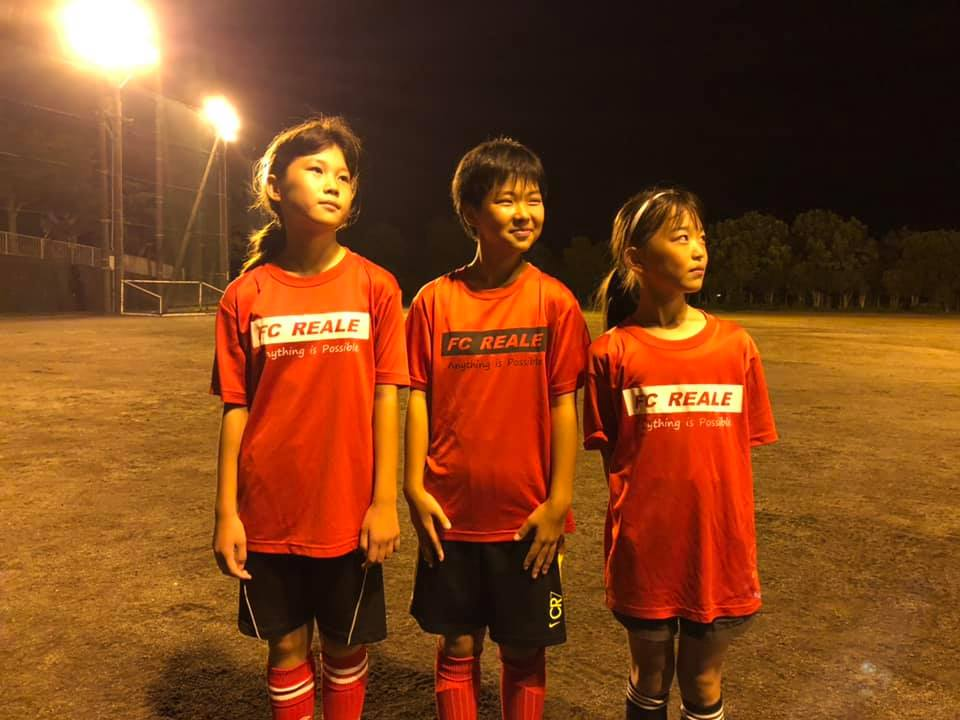 "U11女子3名、県トレセン合格。彼女たちの成長とリーダーシップの発揮に期待!Three U11 girls passed the prefectural ""TORESEN""."