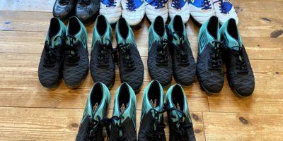 """英国サッカーブランド「アンブロ」様より シューズのご寄付をいただきました! British football brand """"UMBRO"""" donated shoes to us. !!"""