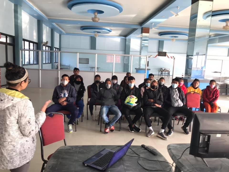 アスリートメディカル講習会を中高生対象に開催 Athletes medical training held for junior and senior high school students.