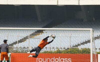「ネパールの選手にインドリーグへの道を開く」インドリーグでプレー中のキラン選手