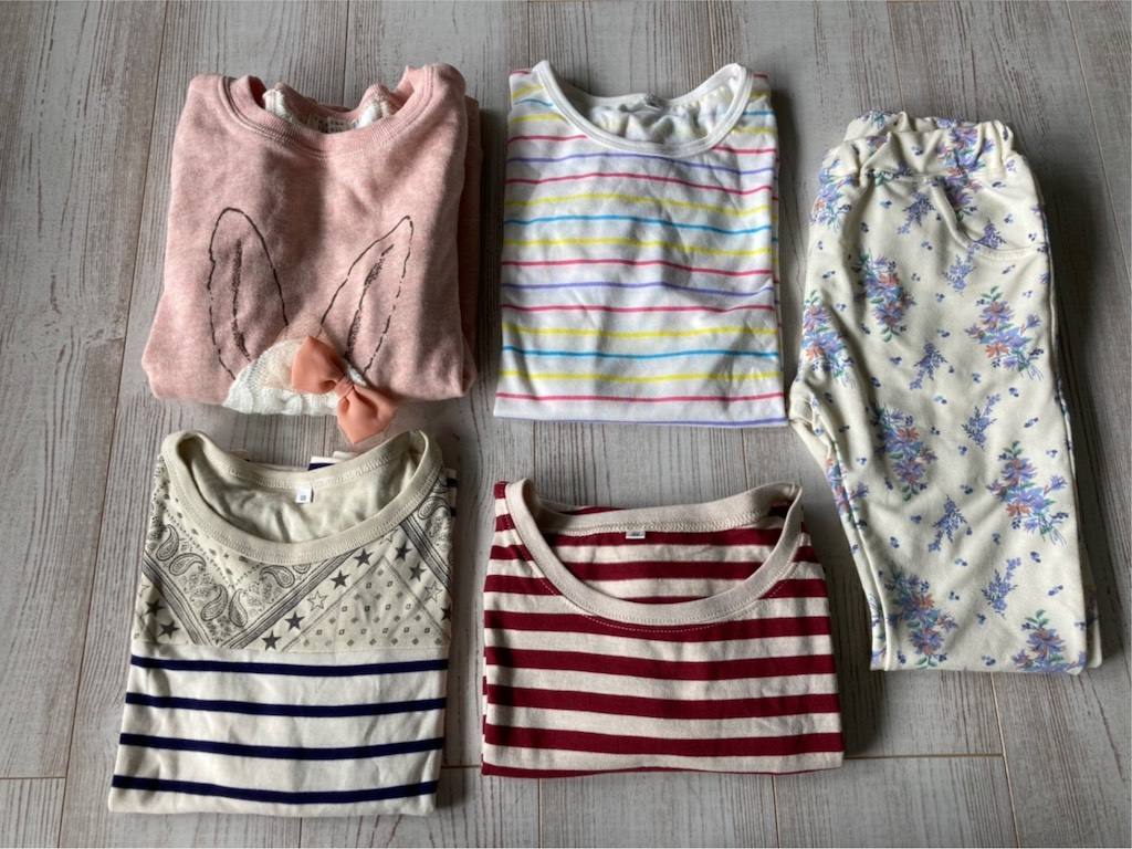 FCレアーレの保護者の方から新品の子供服を寄付していただきました。Thank you for donating new children's clothing!