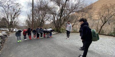 サッカーを通しての縦のつながりを大切に! Learn Vertical Relationships through Succor Playing