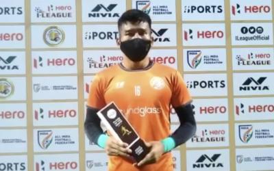 キランがインドのプレミアリーグで月間最優秀選手賞を受賞!Kiran Got the Monthly MVP