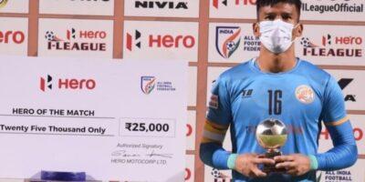 キラン選手、インドリーグで3度目の「ヒーローオブザマッチ」受賞! Kiran、Brilliant Achievement!!