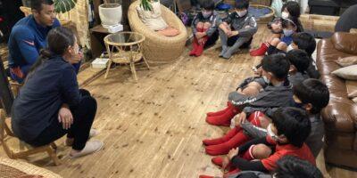 子どもたち一人ひとりの心と向き合う〜FCレアーレのミーティング