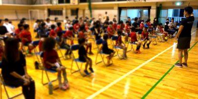 今年度第1回目の岡田先生の食育講座開催