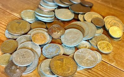 子どもたちを熱くする外国のコインの寄付、ありがとうございました。